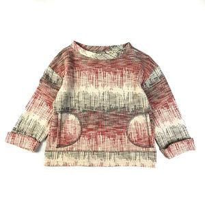 Anthropologie Postmark Boxy Pullover Sweatshirt